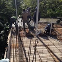 Work on Pilette School Roof photo album
